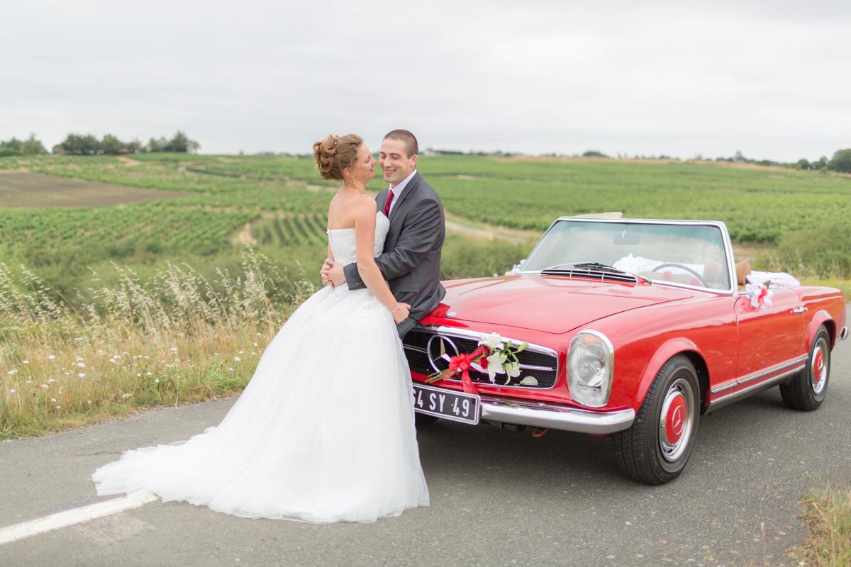 Séance couple dans la Vallée de la Loire