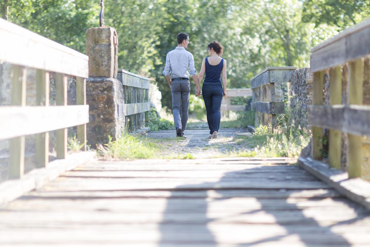 Vieux pont en bois