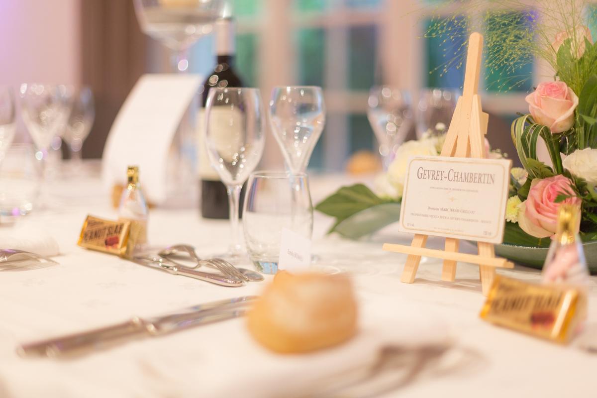 Détail de décoration de table